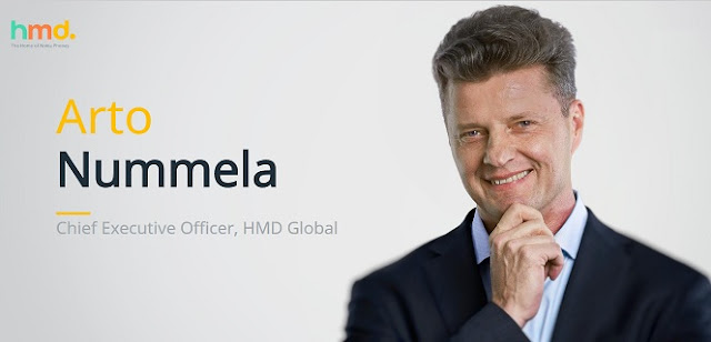 HMD Global CEO Arto Nummela Resigns