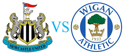 Prediksi Skor Newcastle United vs Wigan Athletic 04 Desember 2012