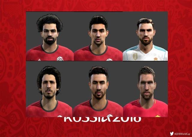 FIFA World Cup Facepack Vol.1 PES 2013