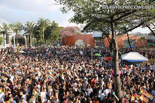 IMG 9917 - 13ª Parada do Orgulho LGBT Contagem reuniu milhares de pessoas