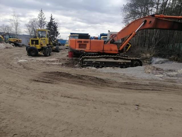 На Київщині незаконно видобували пісок