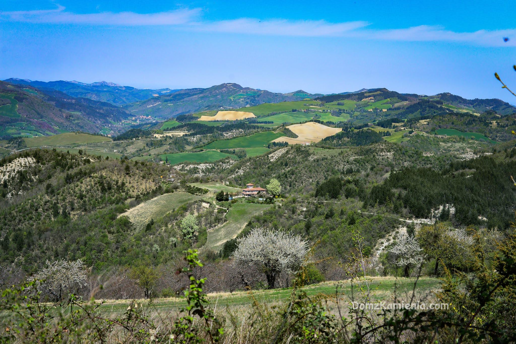 Apeniny, Toskania, trekking Dom z Kamienia blog