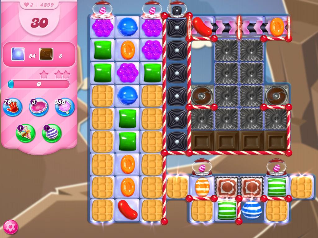 Candy Crush Saga level 4399