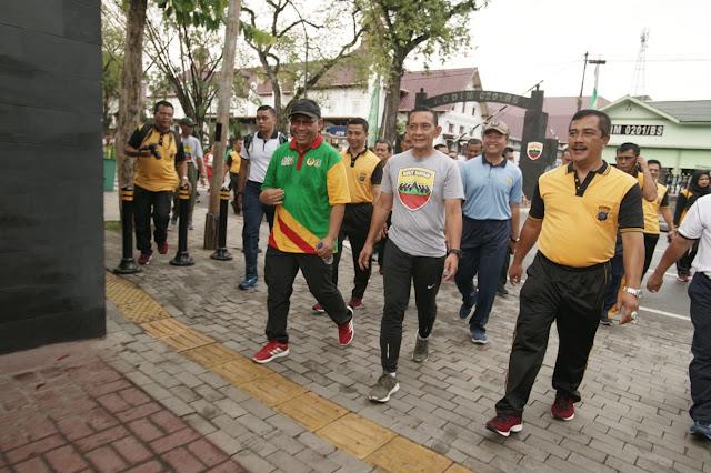 Wakil Wali Kota Harap TNI-Polri Semakin Bersinergi