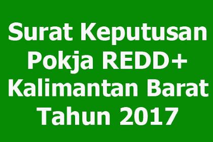 SK Kelompok Kerja REDD+ Kalimantan Barat
