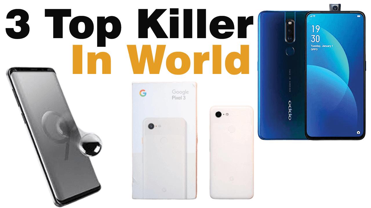3 Top Killer Smartphone Best in World (August 2019) - Latest