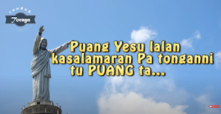 Lirik Lagu Puang Yesu Lalan Kasalamaran
