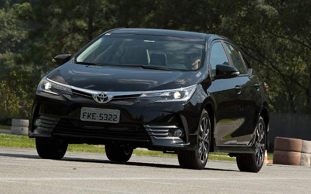 Toyota Corolla - 5ª carro mais vendido do Brasil - maio
