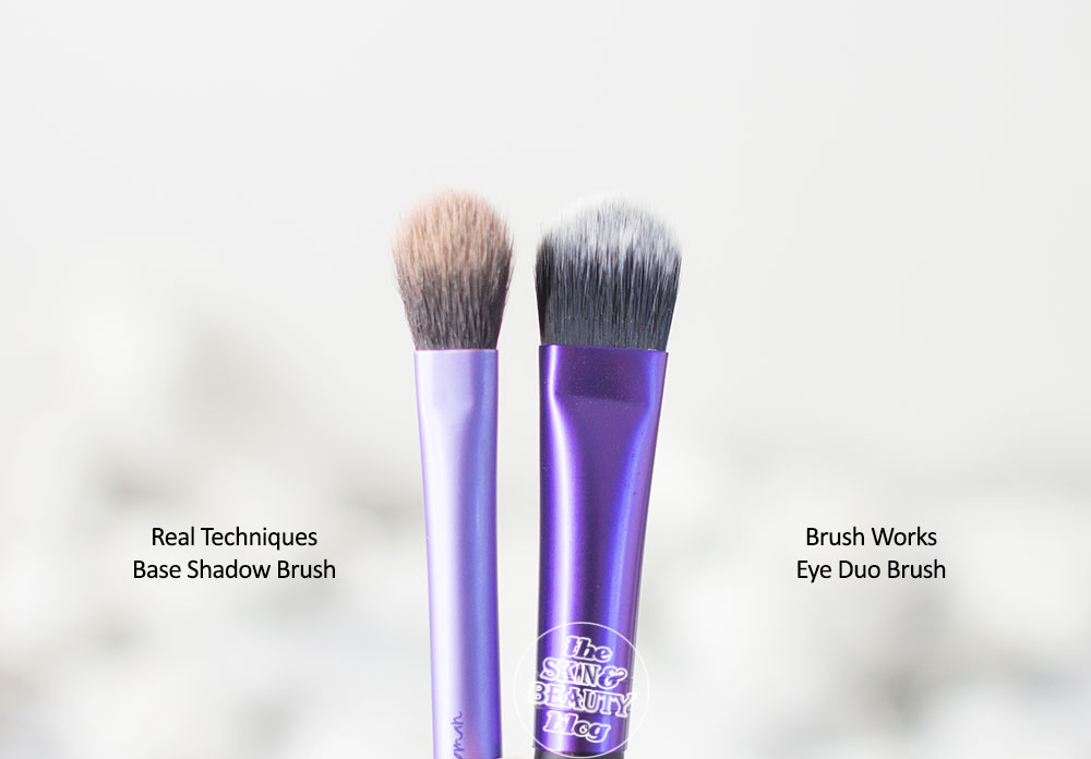 Invogue Brush Works Eye Duo Brush