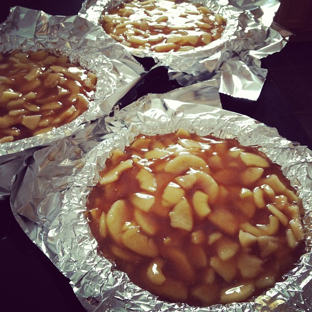 Someplace That's Green: Preserving: Freezer Apple Pie Filling