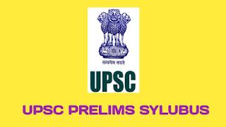 UPSC Prelims Syllabus