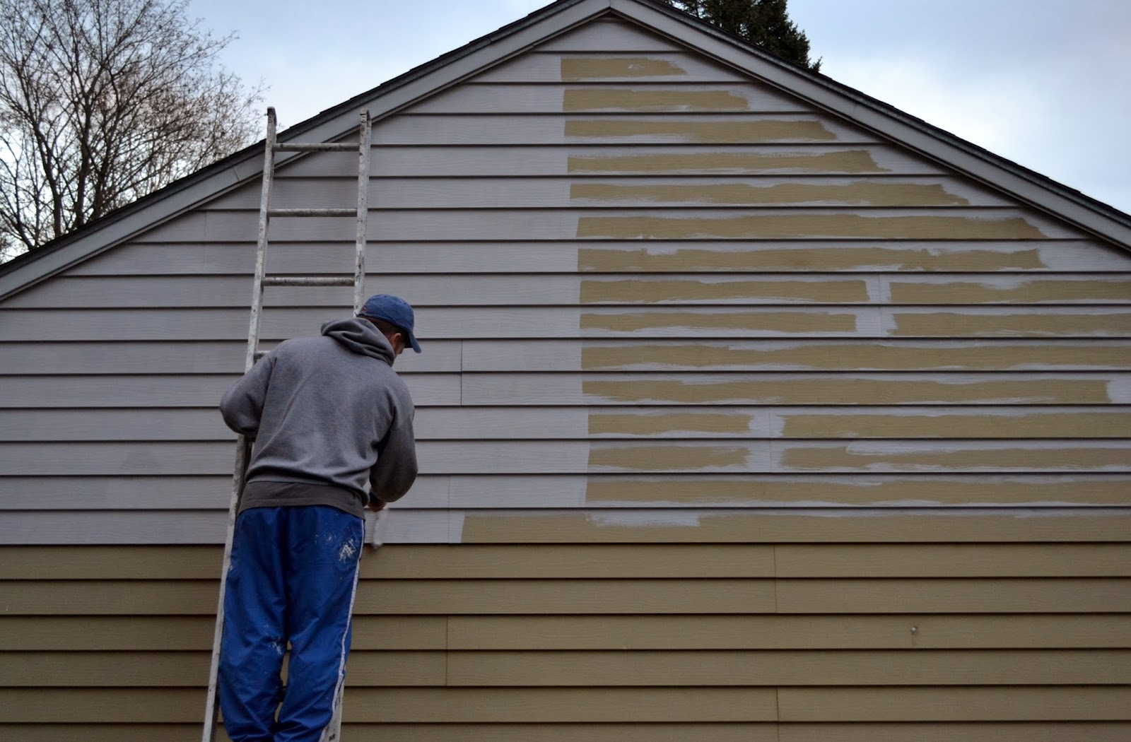 Ckuh painting our aluminum siding - What temperature can you paint outside ...