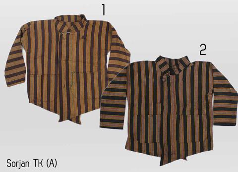 gambar model baju lurik