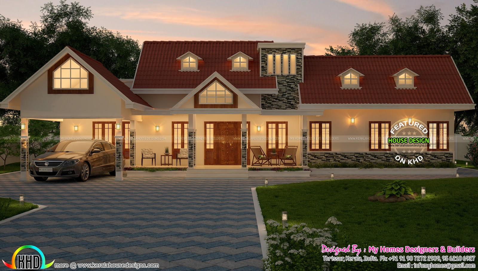 Best  bedroom sq ft house plan