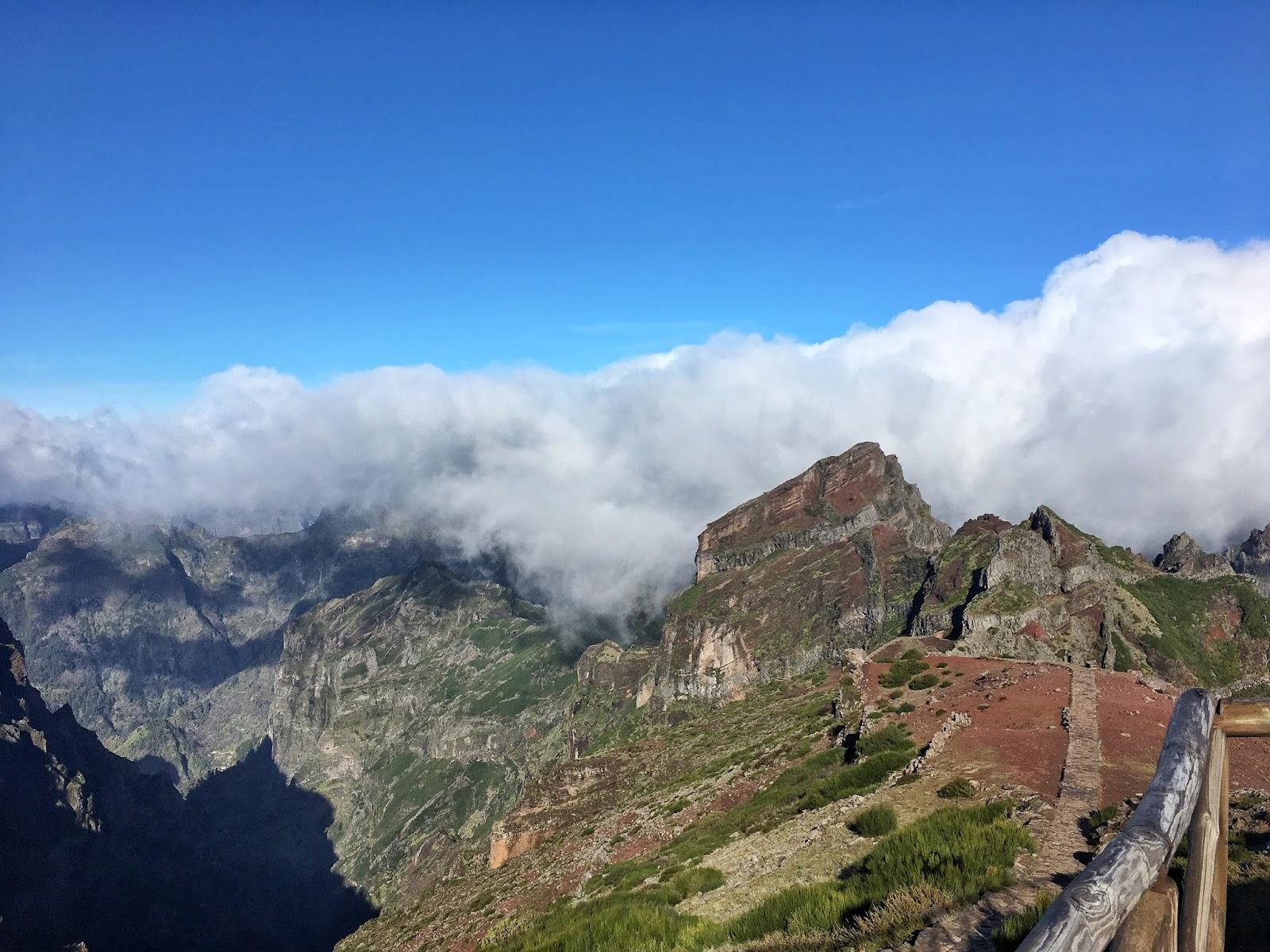 Pico do Areiro, Madeira, Portugal