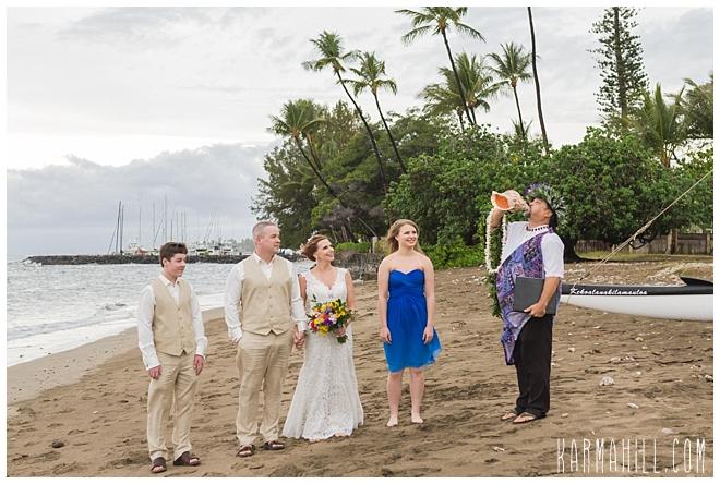 Maui Beach Wedding Coordinator