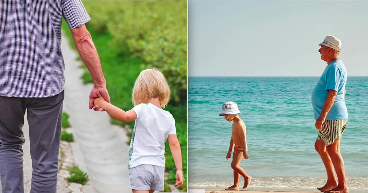 Study Shows That Children Who Have Their Grandparents Involved In Their Upbringing Grow Up Happier And More Secure