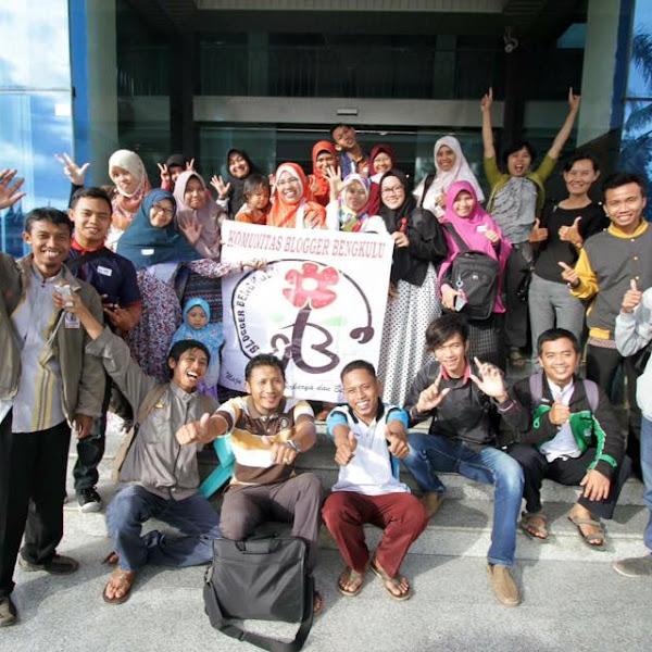 Bangga Jadi Bagian Blogger Bengkulu