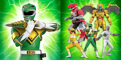 Mighty Morphin Power Rangers Ultimates! Action Figures Wave 1 by Super7
