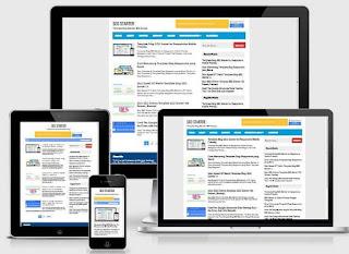 SEO Starter - Template Blog SEO Responsive Mobile Friendy