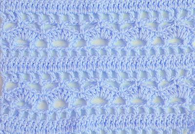 3 - Crochet Imagenes Puntada combinada para blusas y canesú por Majovel Crochet