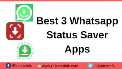 Best 3 Whatsapp Status Saver App