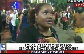 'You Wanna Make a F*cking Fabricated Story!': Charlotte Protester Confronts