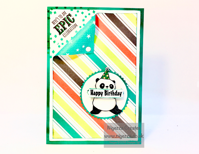 Stampin For all Design team Party Pandas