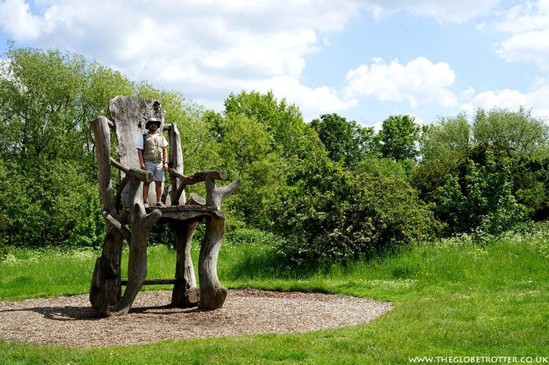 The Giants Chair - Lee Valley Sculpture Trail