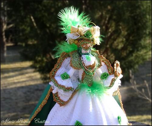 Poupée carnaval de Venise