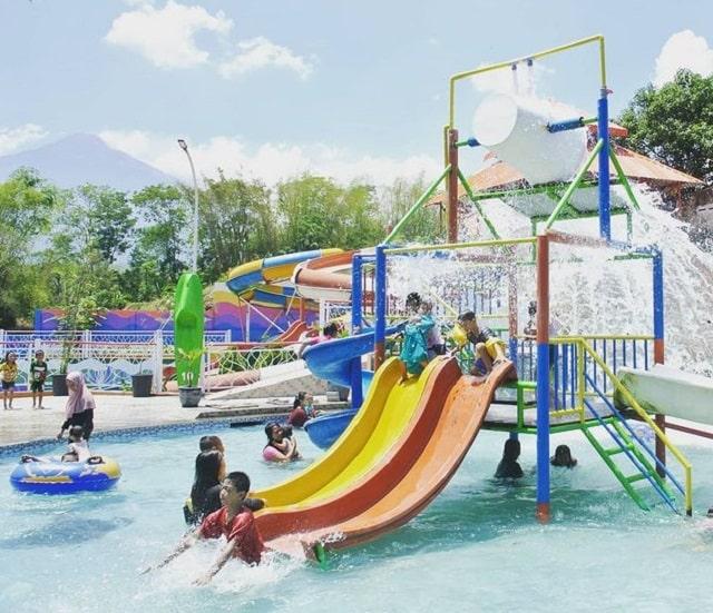 fasilitas parimas waterpark pacet mojokerto