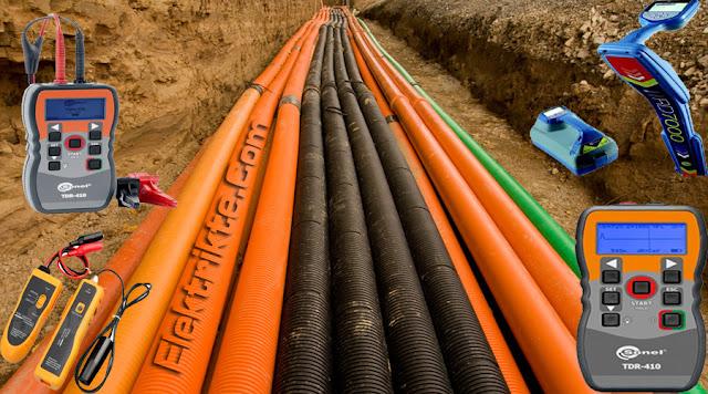 yeraltı kabloları arıza tespit cihazları
