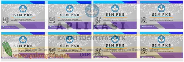 Kartu PTK SIM PKB 2017 Format Excel