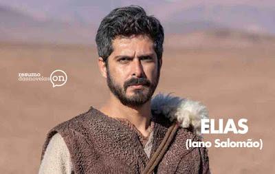 Iano Salomão viverá o personagem Elias, que enfrentará Jezabel na nova trama bíblica da Record TV.