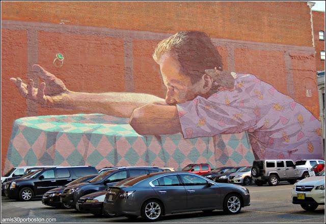 Grafiti en Providence, Rhode Island