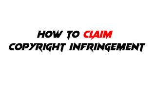 copyright infringement form
