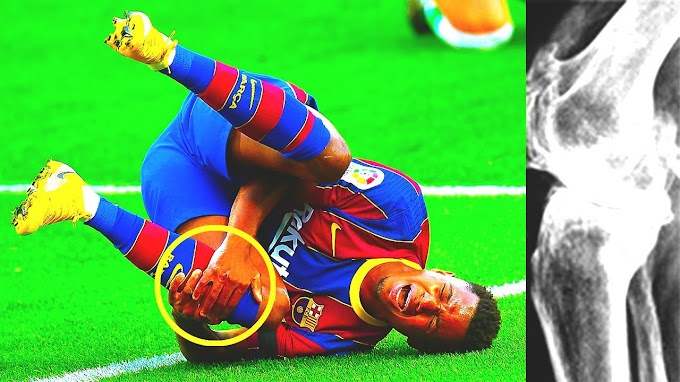 Check Barcelona Ansu Fati Injury Update | Check The Horror Injury Is Suffering From And His Recovery State  - May 23
