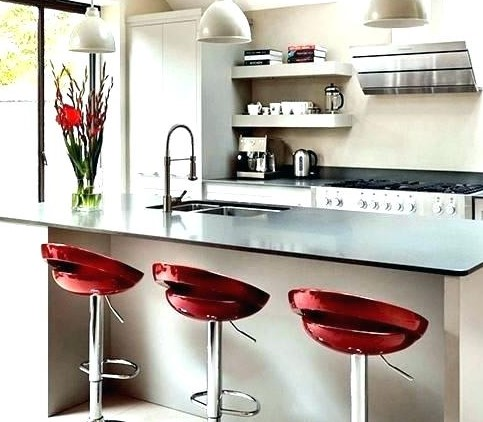 Red Glamours Kitchen Stools