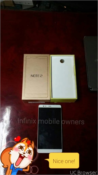 Infinix Set To release Hot Note 2 With 5300mAh Battery