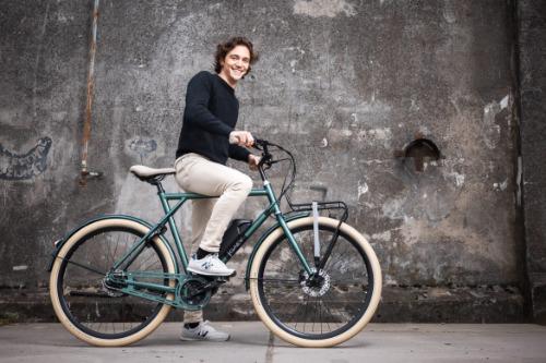 BSP Gaev E e-bike met voordrager