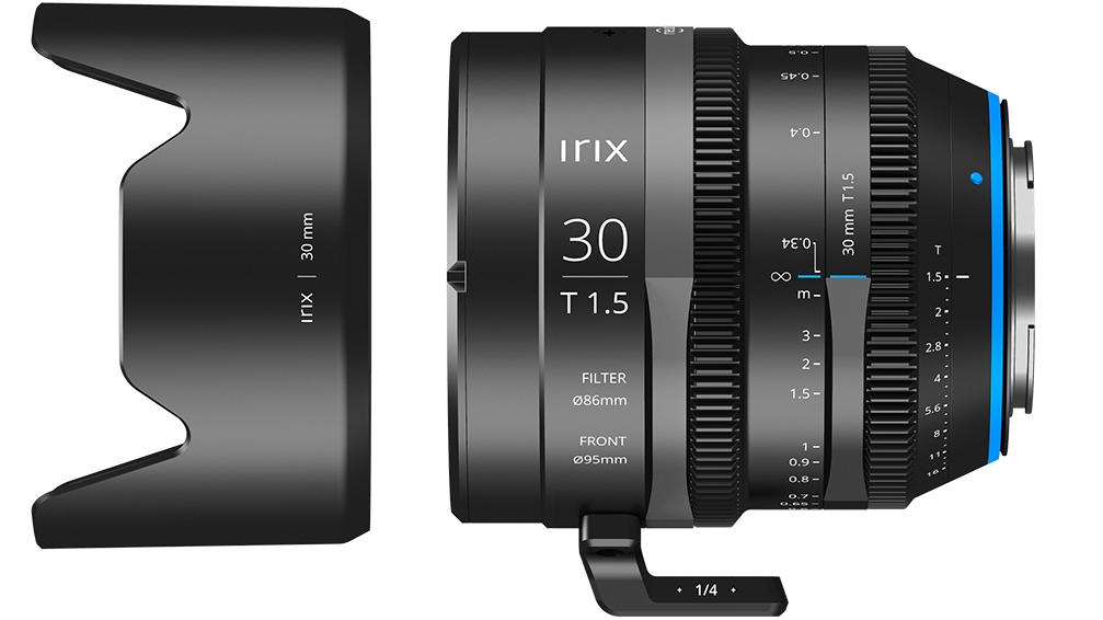 Магнитная бленда с объективом Irix Cine 30mm T1.5
