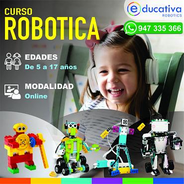CURSO ONLINE DE ROBÓTICA