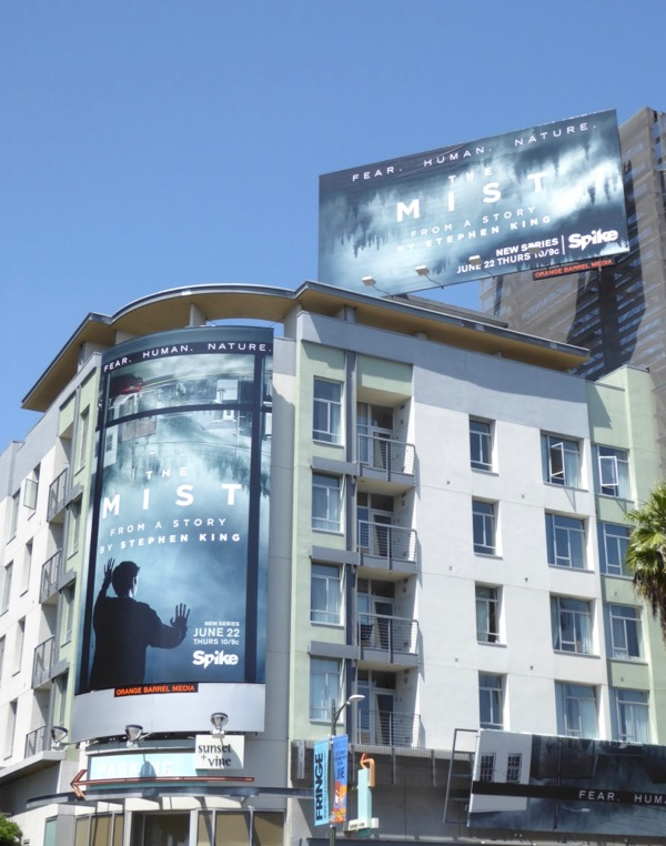 Mist series premiere billboards