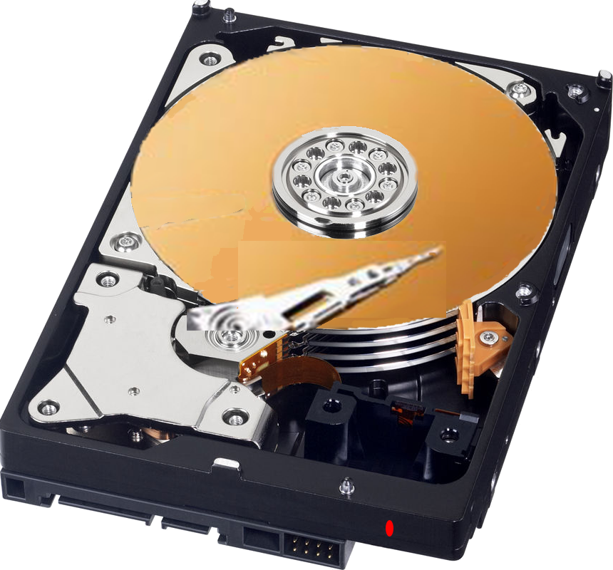 HDD - hard disc drive