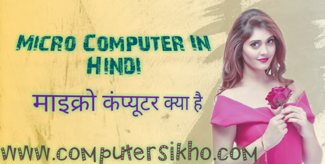 micro computer in hindi