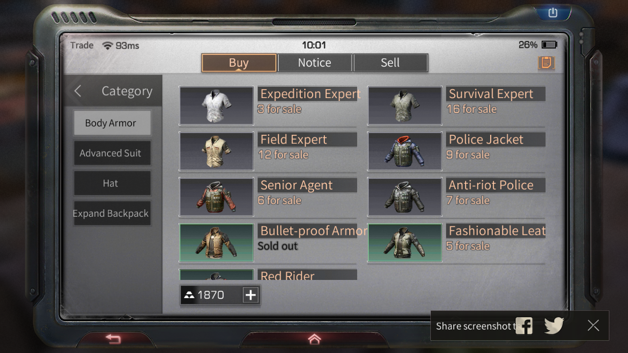 How to Sell Items on LifeAfter Market to Get Lots of Gold Bars