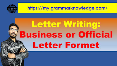 Business or Official Letter Formet