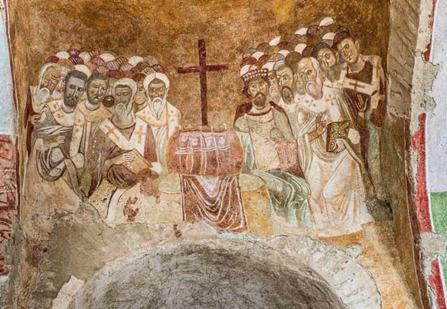 First Council of Nicaea in 325 A.D. byzantium.filminspector.com