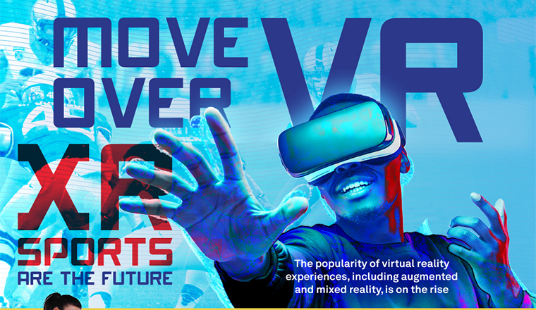 Move Over VR: XR Sports Are The Future #infographic