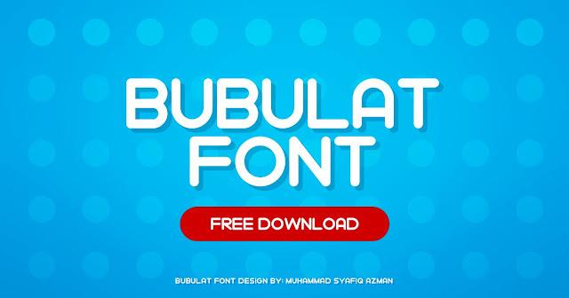 Free Bubulat Font